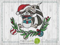 Charly Weihnachtszauber Waschbär Weihnachtscharly