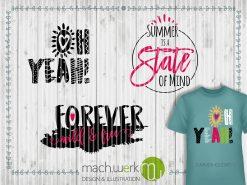 Plotterdatei Sommerferien, Summerholidays Motivvorschau